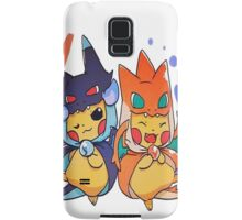 pikachu as mega-charizard x and y Samsung Galaxy Case/Skin