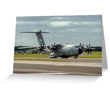 Airbus Military A400M Atlas 13-0009 Greeting Card