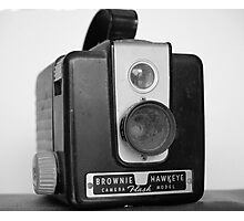 Brownie Hawkeye Photographic Print