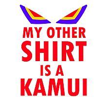My Other Shirt is a Kamui - Kill la Kill (JUNKETSU VERSION) Photographic Print
