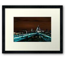 Late...Night in London Framed Print