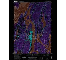 Maine USGS Historical Map Bath 104901 2000 24000 Inversion Photographic Print
