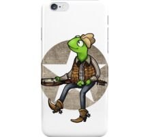 nothing haults this frog iPhone Case/Skin