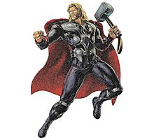 Thor - The Avengers Photographic Print