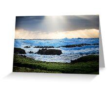 Sprays Point,Mornington Peninsula Greeting Card