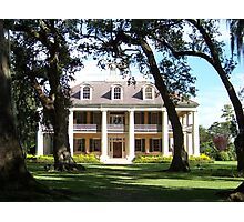 The Crown Jewel of River Road- Houmas House Plantation Photographic Print
