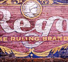 Rego sign, Victoria by Roz McQuillan