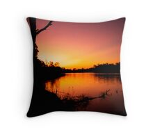 Night Comes Throw Pillow