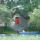 Boat House in Killarney by Connie  Danaher