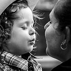Blow me a Baby Cowgirl Kiss by Clare Colins