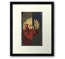 Hero Of Ferelden Tarot Card Framed Print