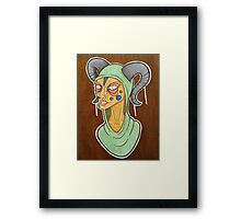 Disgusted Framed Print