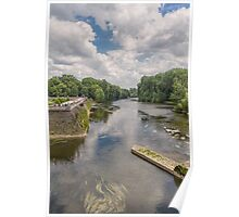River Cher, Chenonceau, Brittany, France Poster
