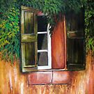 Southwest Window by Susan Bergstrom