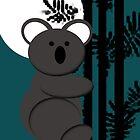 Koala Bear In Moonlight by jkartlife
