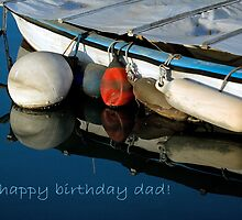 """""""Boats"""" Birthday Card For Dad by smokipokicards"""