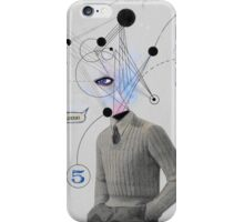 mr logical  iPhone Case/Skin