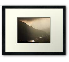 Wonderful Wales Framed Print