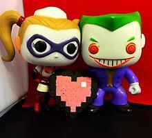 Harley Quinn & Joker Valentines by FendekNaughton