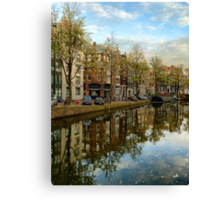 Amsterdam Reflection Canvas Print