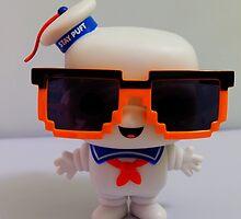 Marshmallow Man In Sunglasses - Light by FendekNaughton