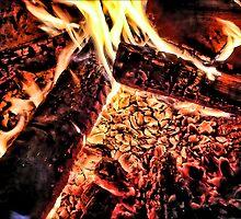Fresco Fire by EbelArt