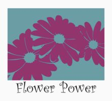 Flower Power T-Shirt #2 by Ann Marie  Barnes