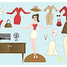 Paper Doll No.2-Me by trennea