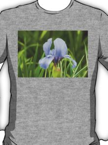 Pale Purple Iris - Impressions Of Spring T-Shirt