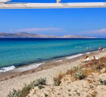 Balcony to the Aegean - Kos island Sticker