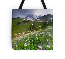 Lupine Storm Tote Bag