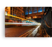 Central Station Lights 2 Canvas Print
