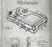 Game Boy Original Patent by popculturenow