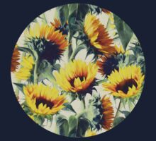 Sunflowers Forever Kids Clothes