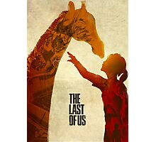 The Last of Us - Ellie and the Giraffe Photographic Print