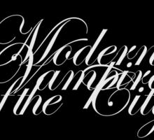 Modern Vampires of the City Sticker