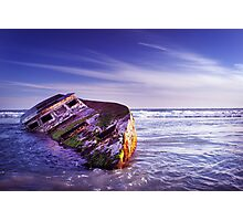Wrecked. Photographic Print