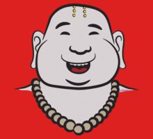 Fat Happy Buddha by FredzArt