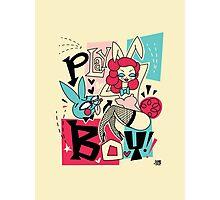 Bunny and Playboy! Photographic Print