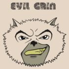 Evil grin by Christopher Doey