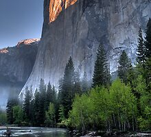 Sunrise on El Capitan by Denis Wagovich