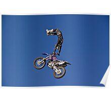 """Freestyle Motor Cross"" FMX Motorcross  Poster"