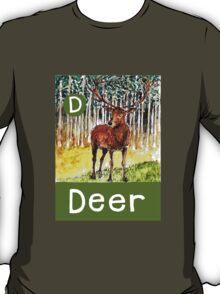 D is for Deer T-Shirt