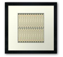 All The Psychopaths Blend In Framed Print