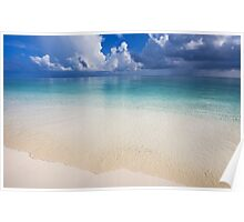 Wide Ocean. Maldives Poster