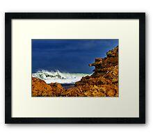 """""""Stormy Thursday"""" Framed Print"""