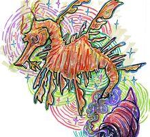 Magic Sea dragon by thesickgirl