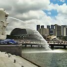 Singapore : Merlion by Jelynn