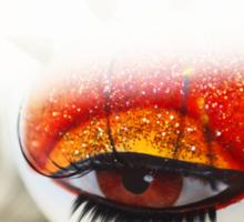 Loving Eye. Color. Love Project Sticker
