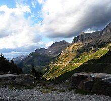 Glacier NP, view 2 by artsphotoshop